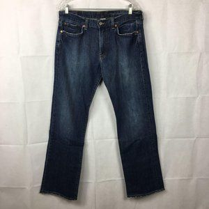 Lucky Brand Vintage Straight Blue Jeans Sz 34